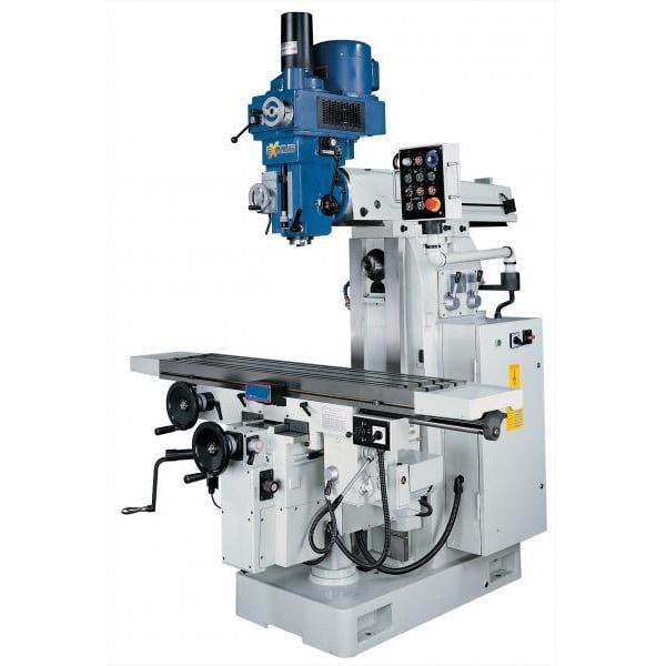 NT 40 Turret Milling Machine c/w Horizontal Spindle