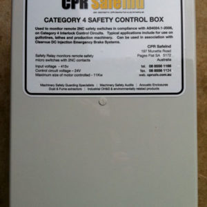 Category 4 Safety Control Box