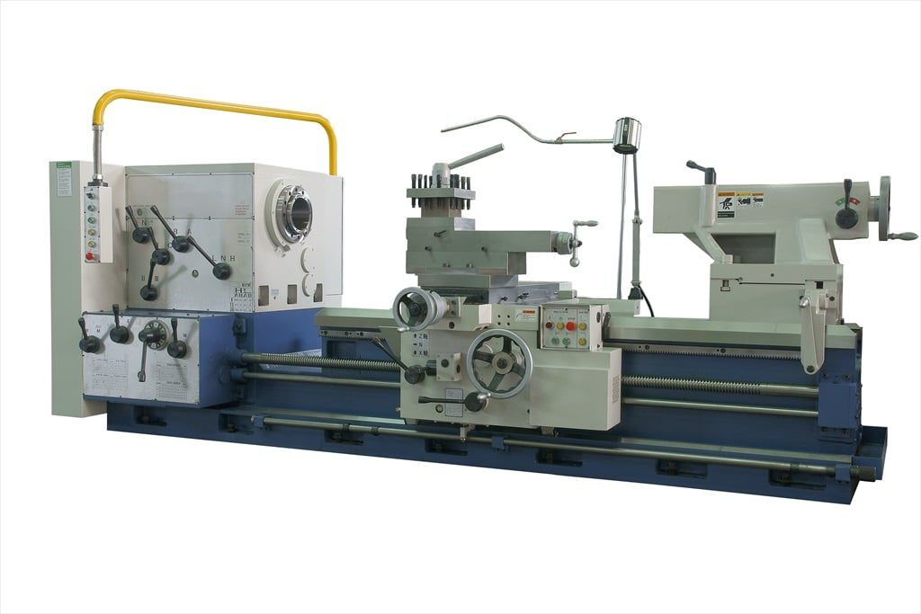 Large Spindle Bore - 800mm Wide Bed