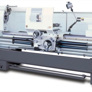 Large Spindle Bore - 460mm Wide Bed