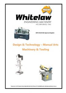 Whitelaw Engineering Machinery Schools Catalogue